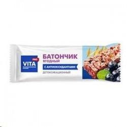 Батончик, ВитаПРО 25 г детоксикационный ягодный (с антиоксидантами)